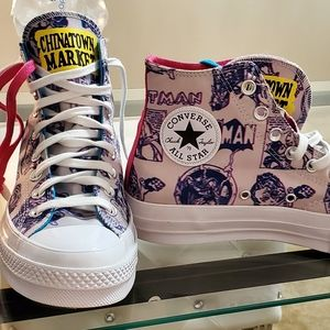 New Converse Batman X on Canvas LIMITED EDITION